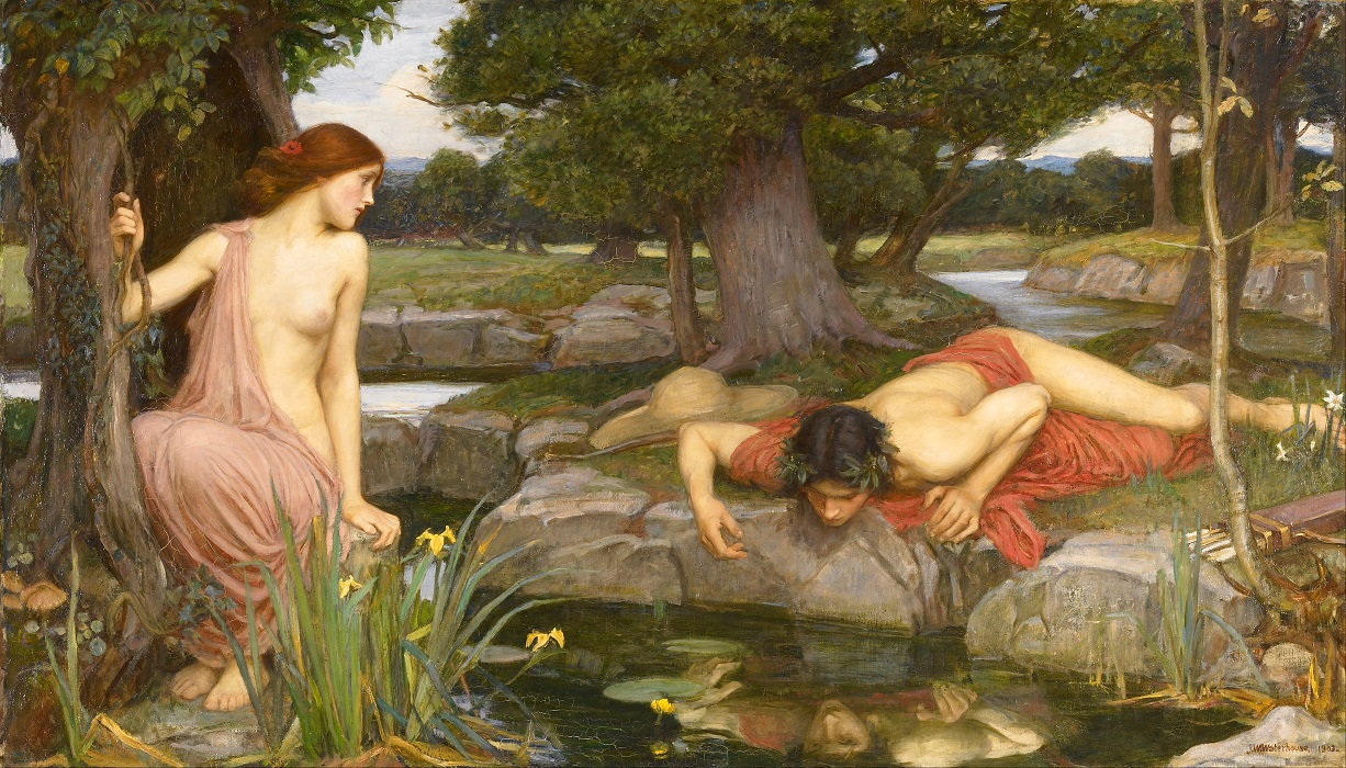 John William Waterhouse Echo and Narcissus Google Art Project